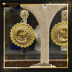 Ital Gold London обеци c2