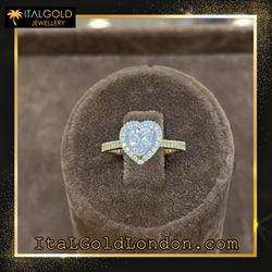 Ital Gold London годежен пръстен 12