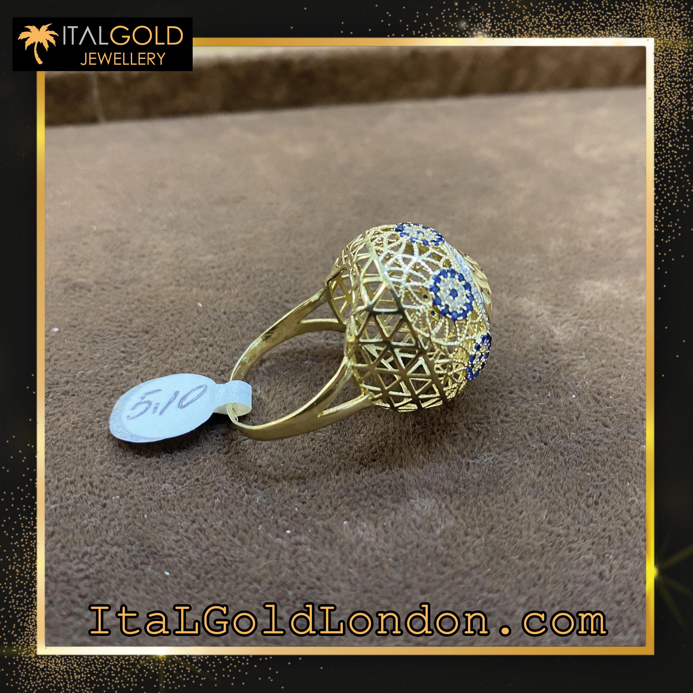 Ital Gold London пръстен h2