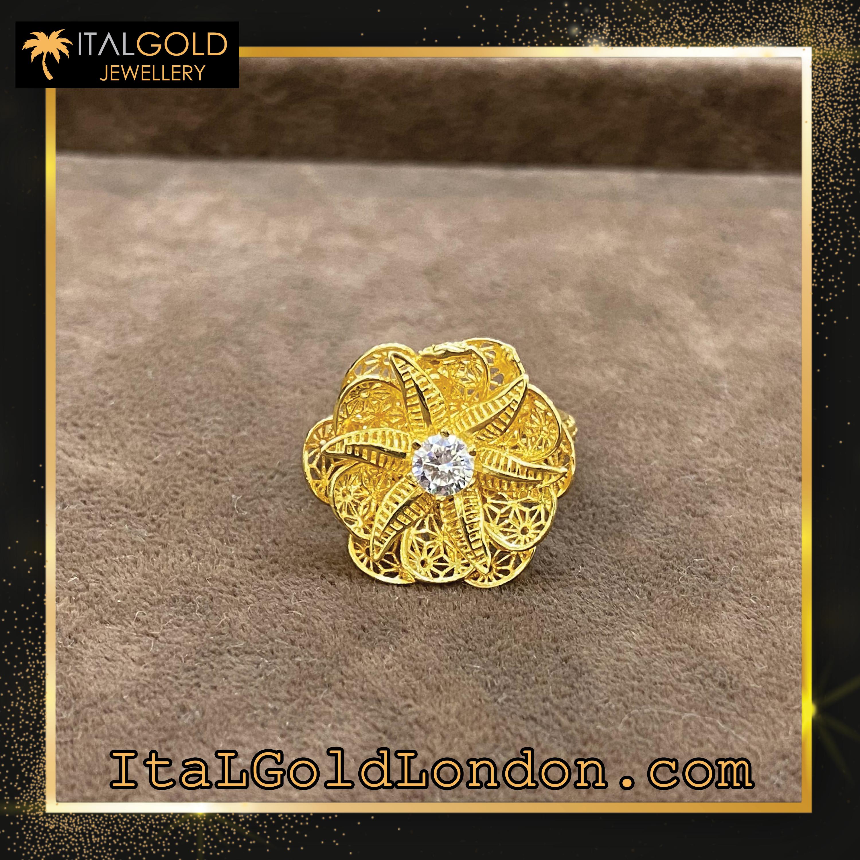 Ital Gold London пръстен b1
