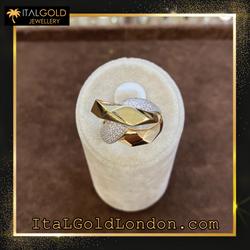 Ital Gold London пръстен j1