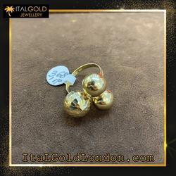 Ital Gold London пръстен f1