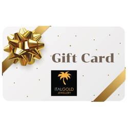 Ital Gold jewellery gift card