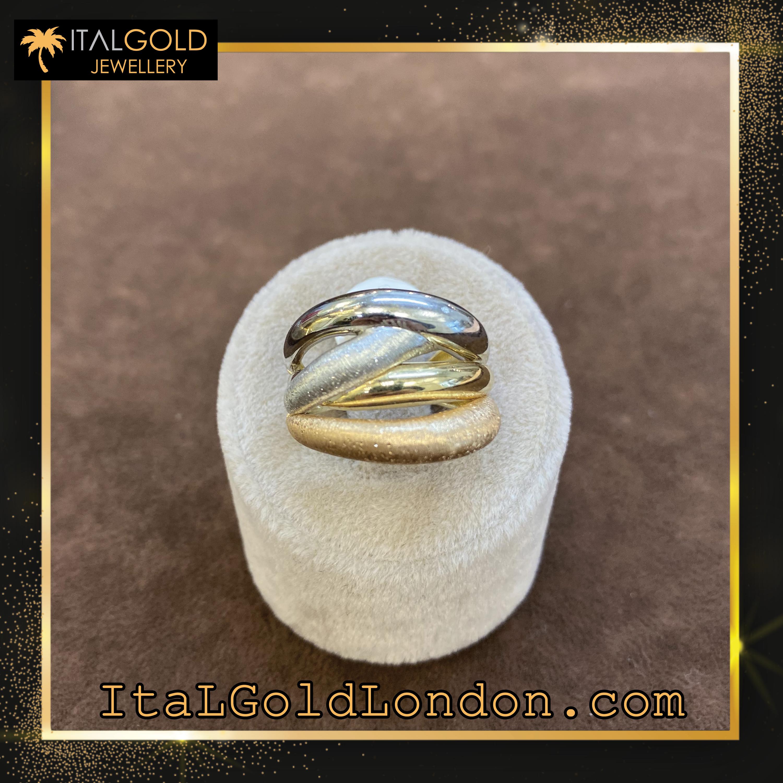 Ital Gold London пръстен g2