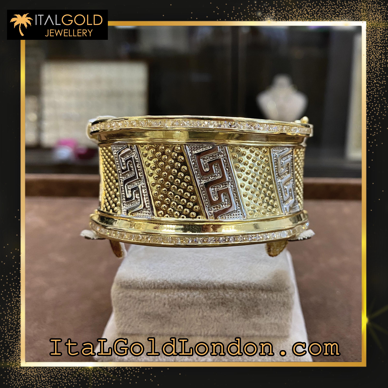 Ital Gold London гривна e2