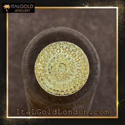 Ital Gold London пръстен е2