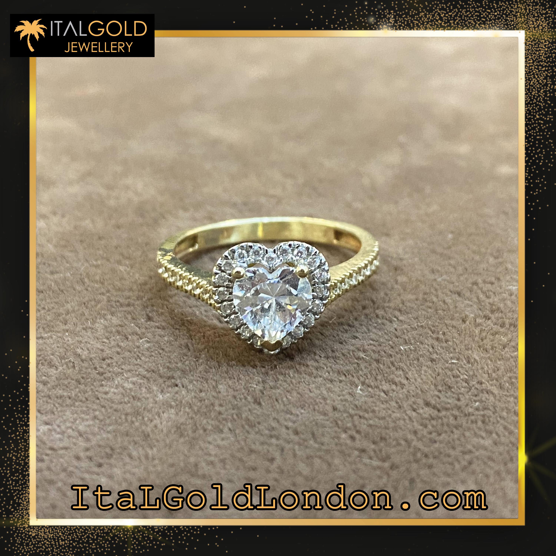 Ital Gold London годежен пръстен 1