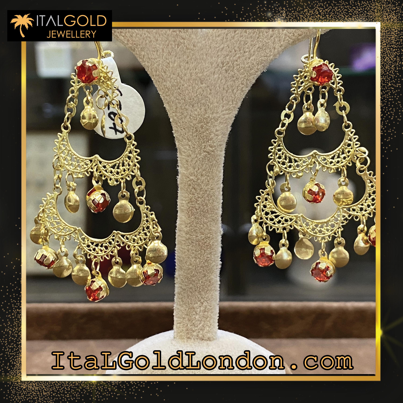 Ital Gold London обеци f2