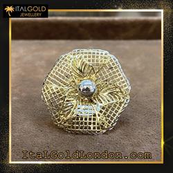 Ital Gold London пръстен d1