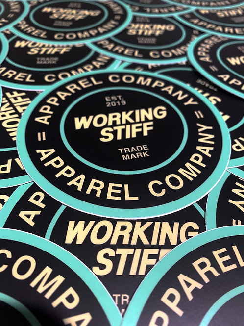 """WS Circle Badge"" Sticker"
