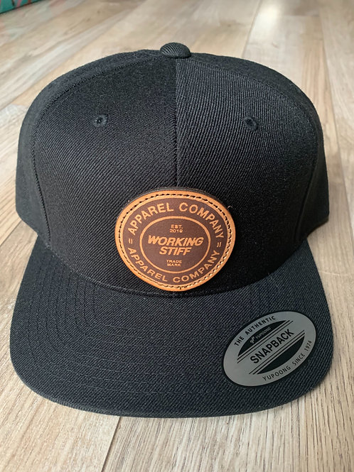Leather Circle Patch WS