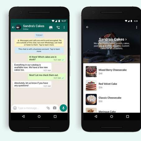 """WhatsApp: nuovo """"shopping button"""" per facilitare gli acquisti di beni e servizi tramite catalogo"""