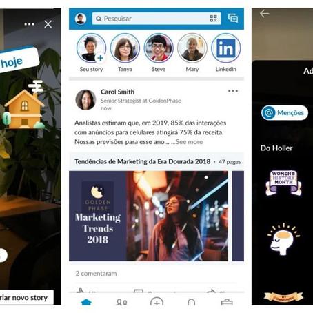 LinkedIn Stories: al via il lancio in Brasile