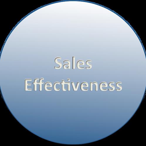 Sales Effectivness