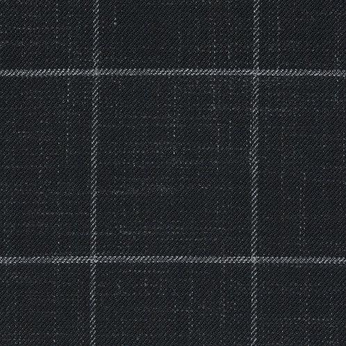 2501 - Black with White Checks