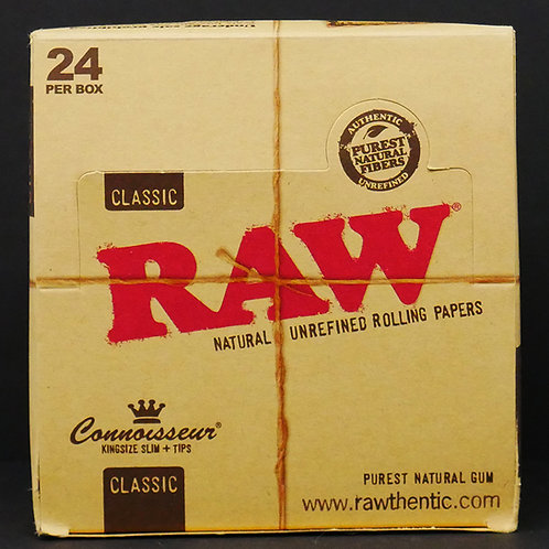 Raw Classic King Size Slim Connoisseur