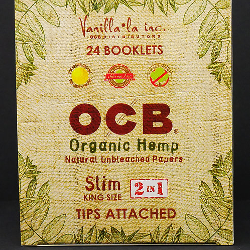 OCB Organic King + Tips