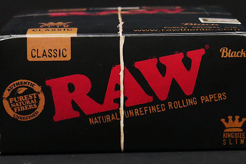 Raw Black Classic King