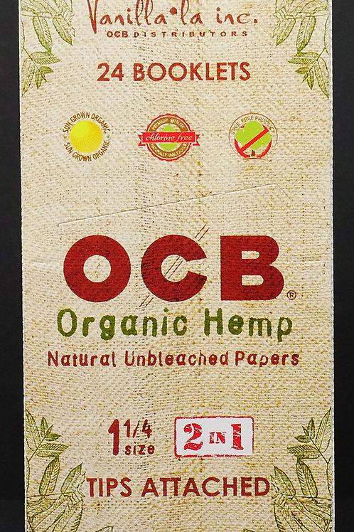 OCB Organic 1 1/4 + Tips
