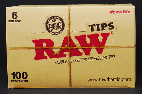 Raw Pre-Rolled Tips 100pk