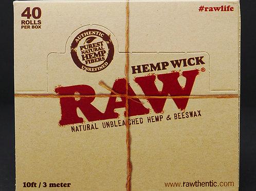 Raw Hemp Wick 10ft