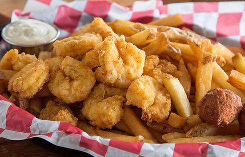 Cajun Boys and Our Poboys | Shrimp Basket