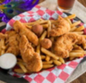 Cajun Boys and Our Poboys | Chicken Finger Platter