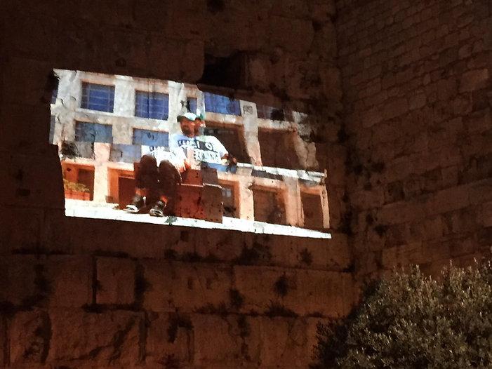 video art installation