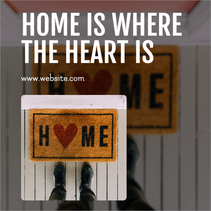 Home is where the heart is post