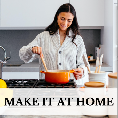 Home cook social post template