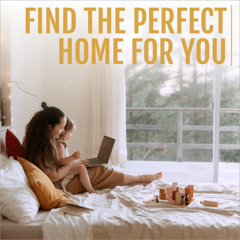 Perfect home social media post template
