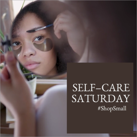 Self care social post template