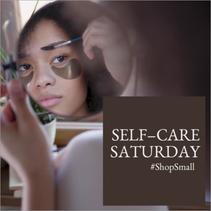 Self care social post template
