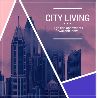 City living ad example