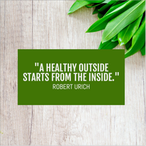 Green quote template