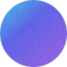 circle with waves pattern