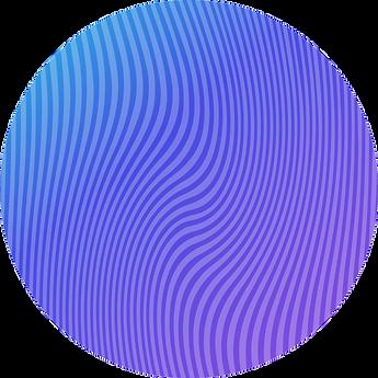 wave circle graphic