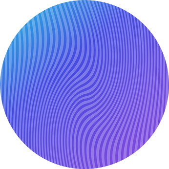 wave circle graphic