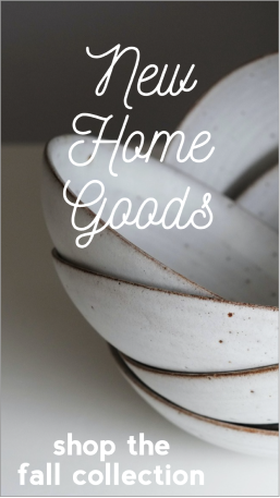 New home goods social post template