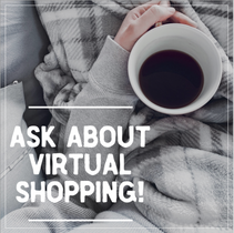 Ask about virtual shopping social post template