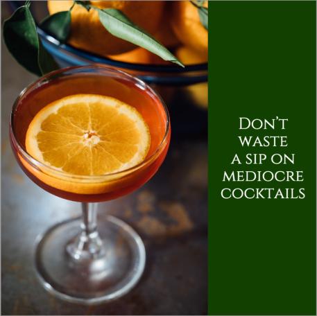Cocktail social media post template