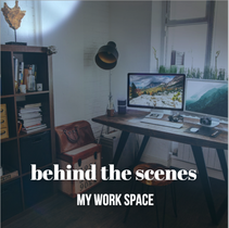 Behind the scenes social post