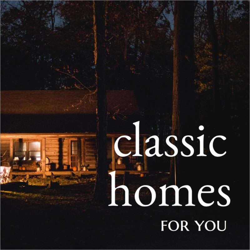 Classic homes social media post template