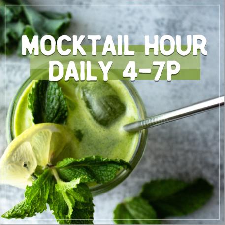 Mocktail green social post template