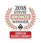 2018 Stevie Bronze Winner