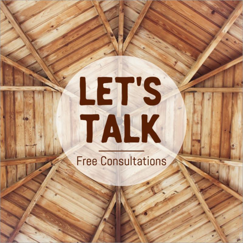 Let's talk consultations social media post