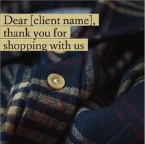 Client appreciation social media post template