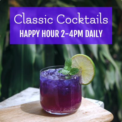 Happy hour ad example