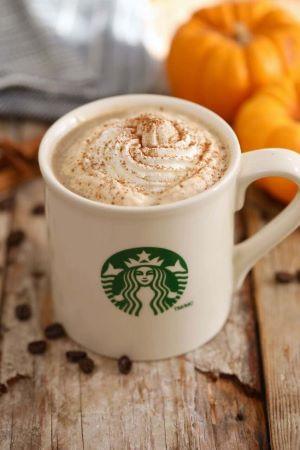 An infamous seasonal product- the pumpkin spice latte