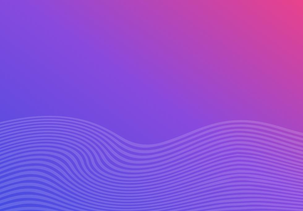 violet magenta gradient + wave pattern1x